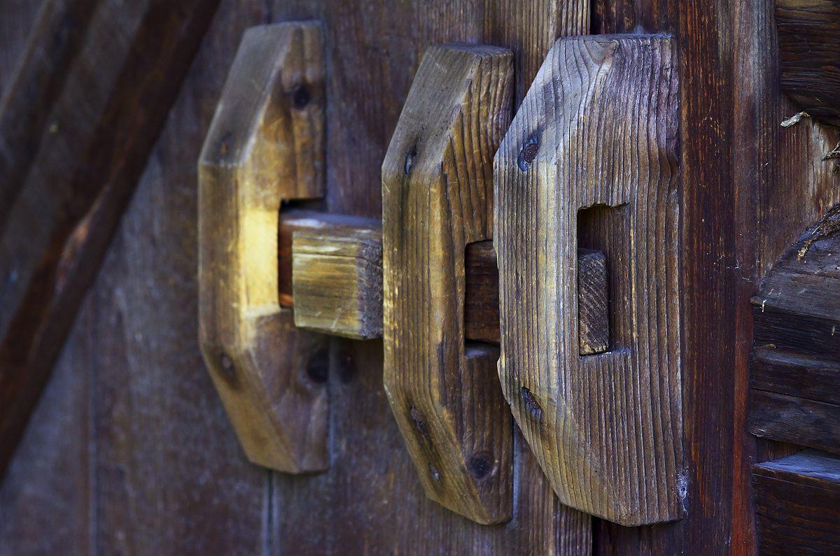 Detailná fotografia zo skanzenu