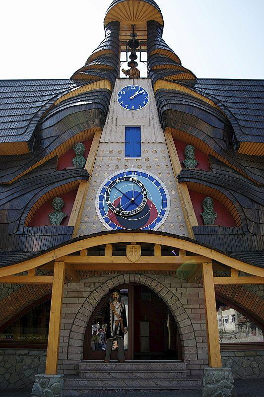 Architektonická fotografia - orloj