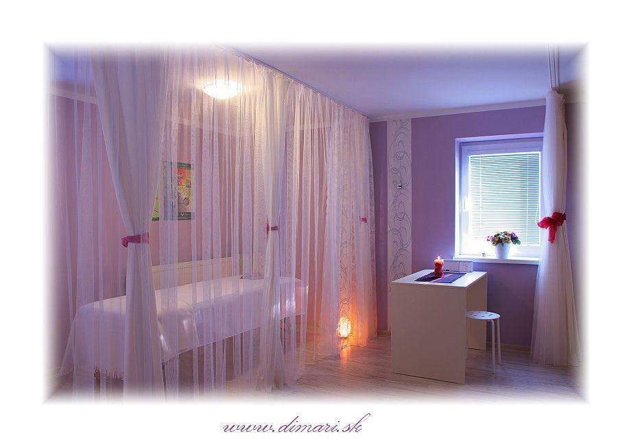 Interiérová fotografia z masážneho salóna
