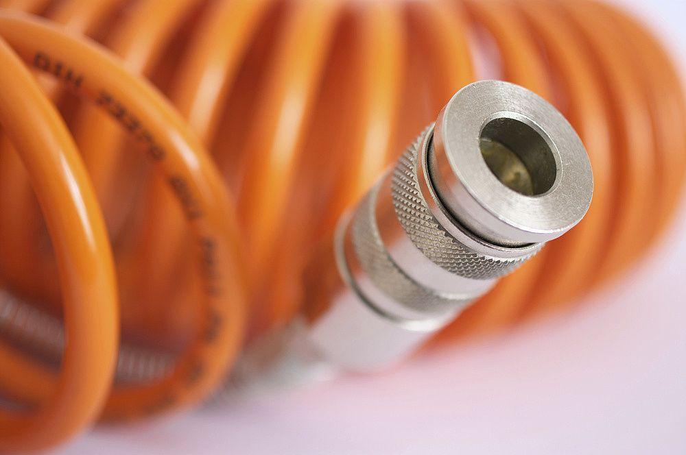 Produktová fotografia - hadica (detail koncovky)