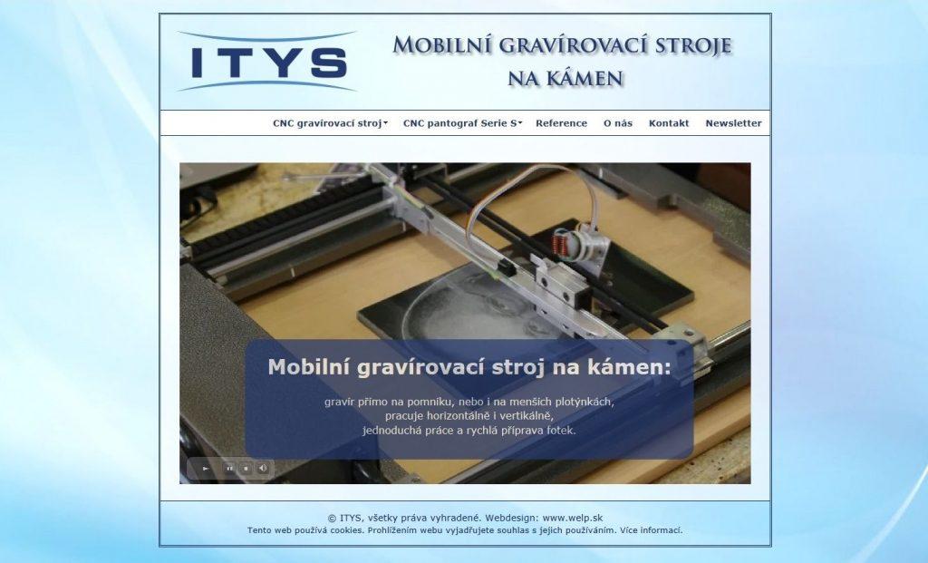Referencie tvorby web stránok - Gravirovaní do kamene