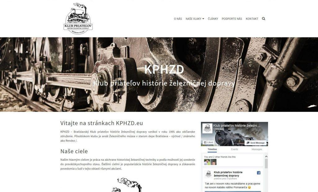Referencie tvorby web stránok - KPHZD