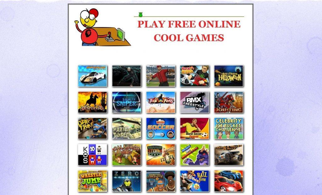 Referencie tvorby web stránok - Hry