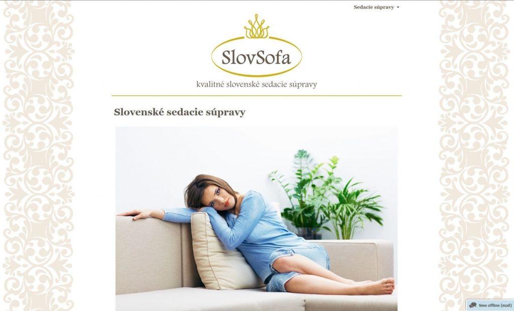 Referencie tvorby web stránok - SovSofa s.r.o.